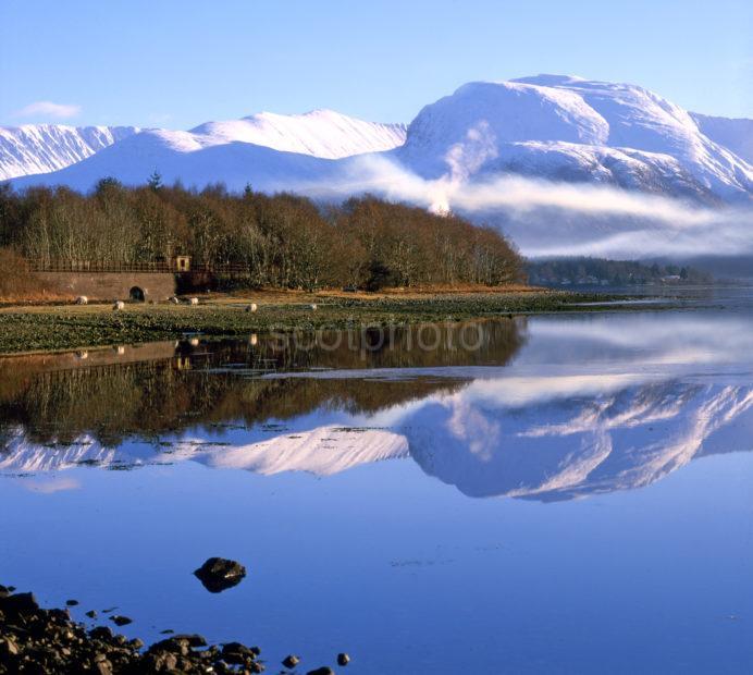 Ben Nevis From Loch Eil Lochaber