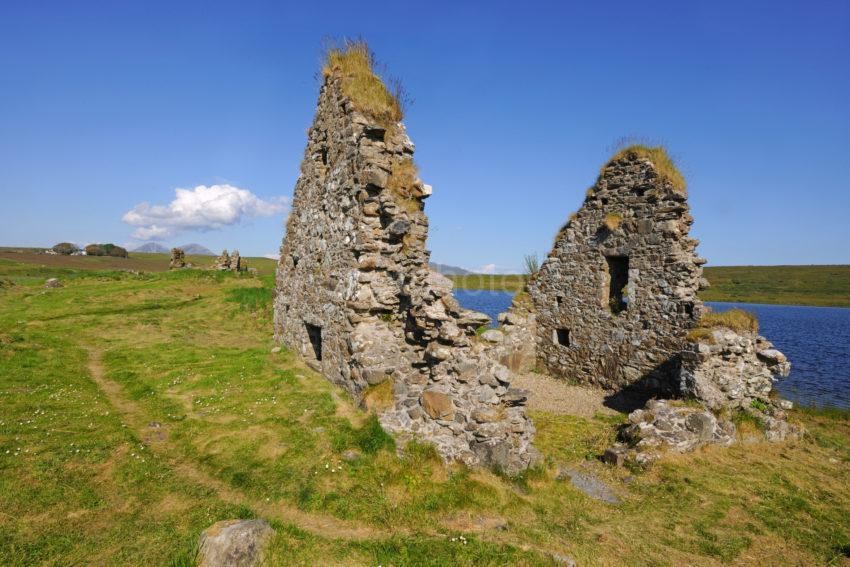 DSC 2664 Ruins On Island On Loch Finlaggan Islay