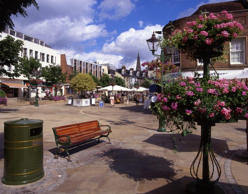 Horsham Town Centre Sussex
