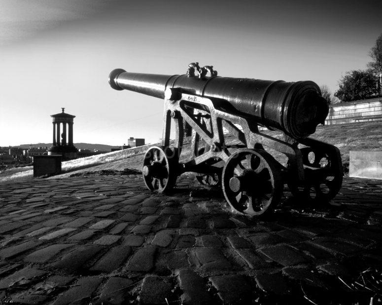 The Canon On Calton Hill City Of Edinburgh