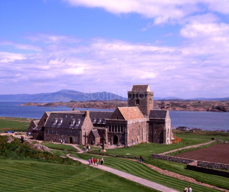 Iona Abbey Island Of Iona Argyll