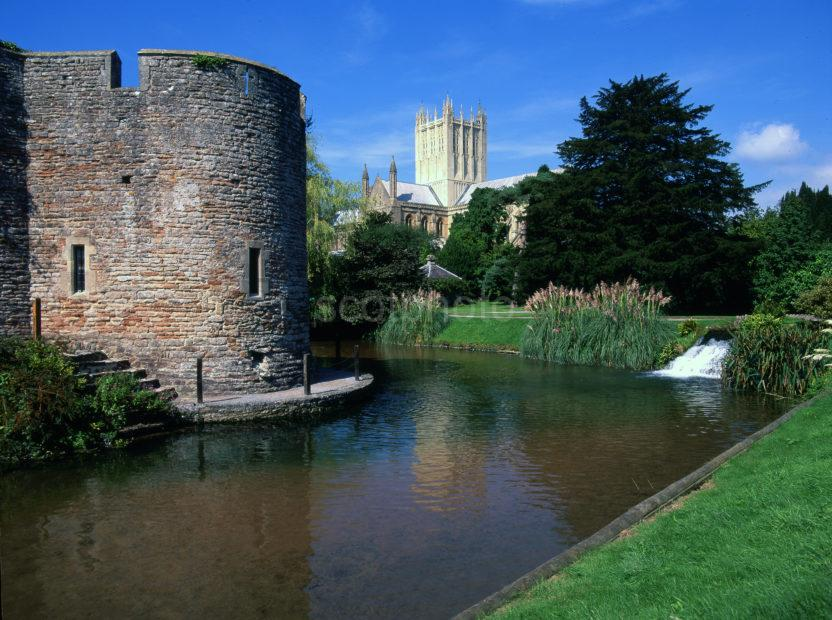 Wells Cathedral From Bishops Palace