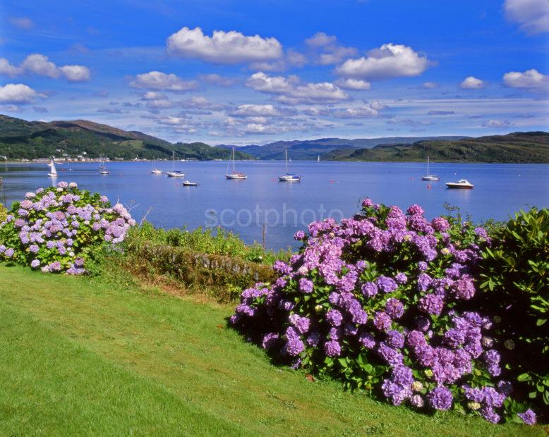 Kyles Of Bute From Tighnabruich Argyll