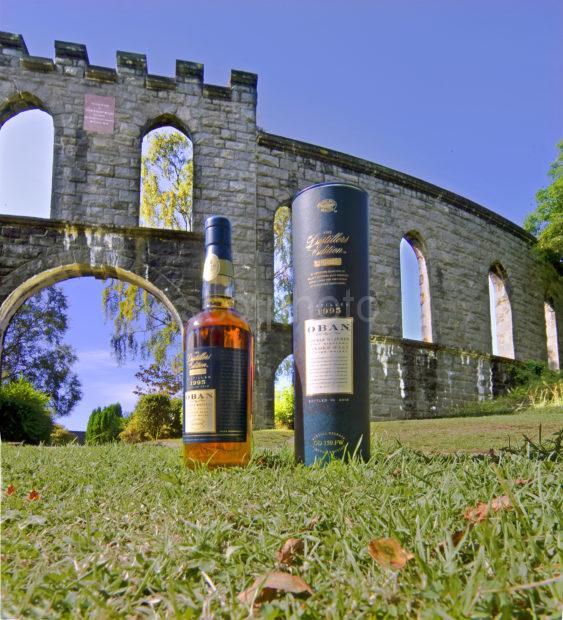 Oban Double Matured Whisky At MacCaigs Tower