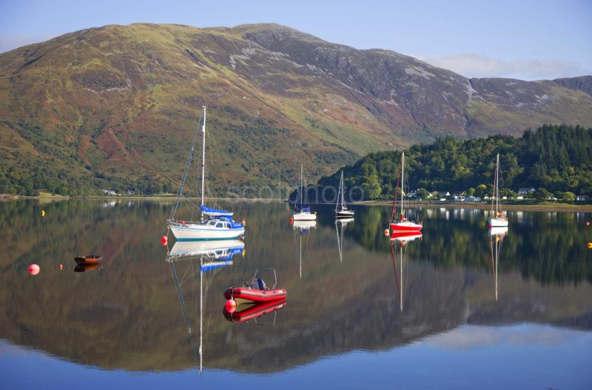 Peaceful Reflections On Loch Leven Glencoe Village