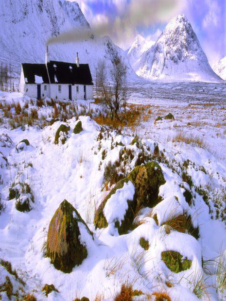 Winter Croft Rannoch Moor