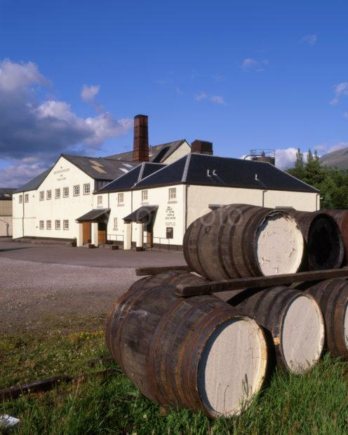 The Ben Nevis Distillery In Fort William Lochaber Single Malt Whiskey