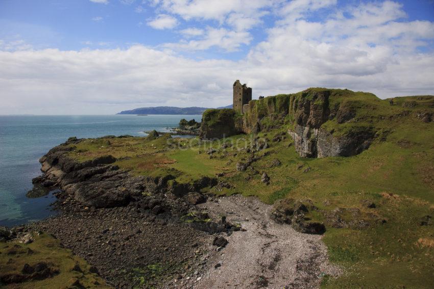 Gylen Castle South Kerrera Coastline