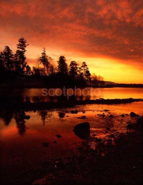 Sunset Loch Awe