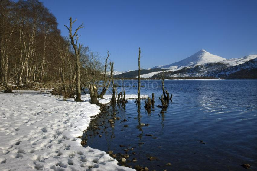 Schiehallion Winter Loch Rannoch