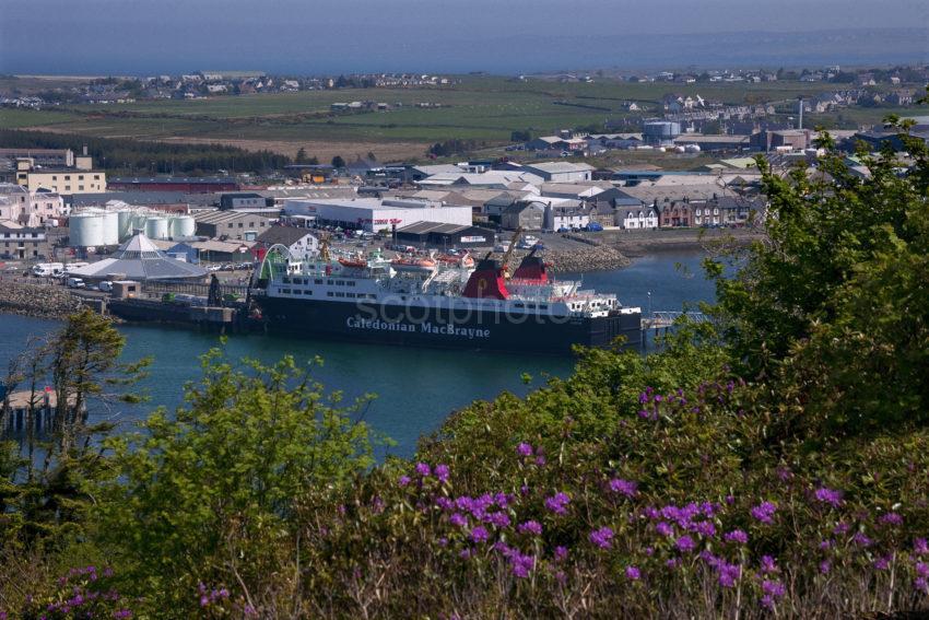 MV Isle Of Lewis At Stornoway Pier