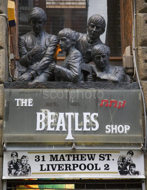 The Beatles Shop Mathew St