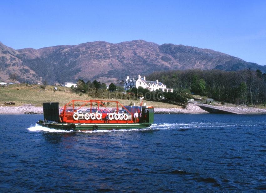 The Old Ballachulish Car Ferry