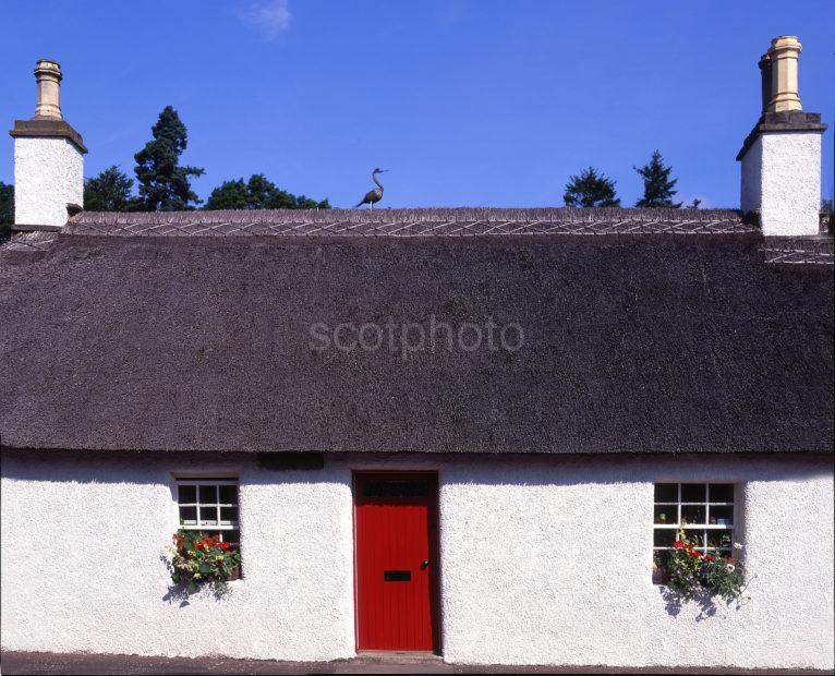 Thatched Cottage In Glamis Angus