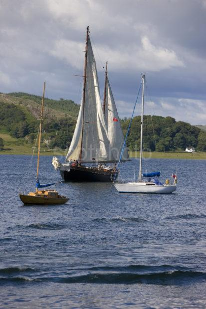 0I5D9665 Yachts Taking Part In The Crinan Classic 08