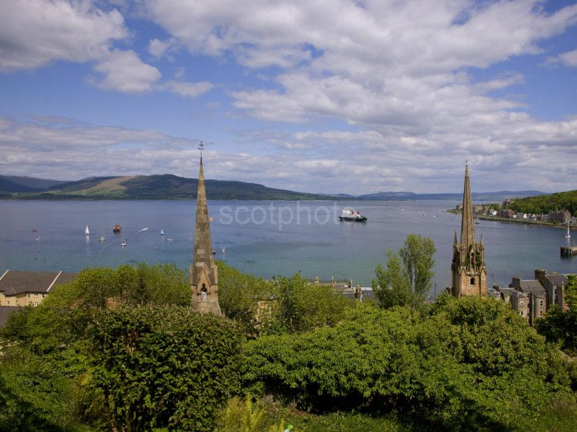 Panoramic Of Rothesay Bay
