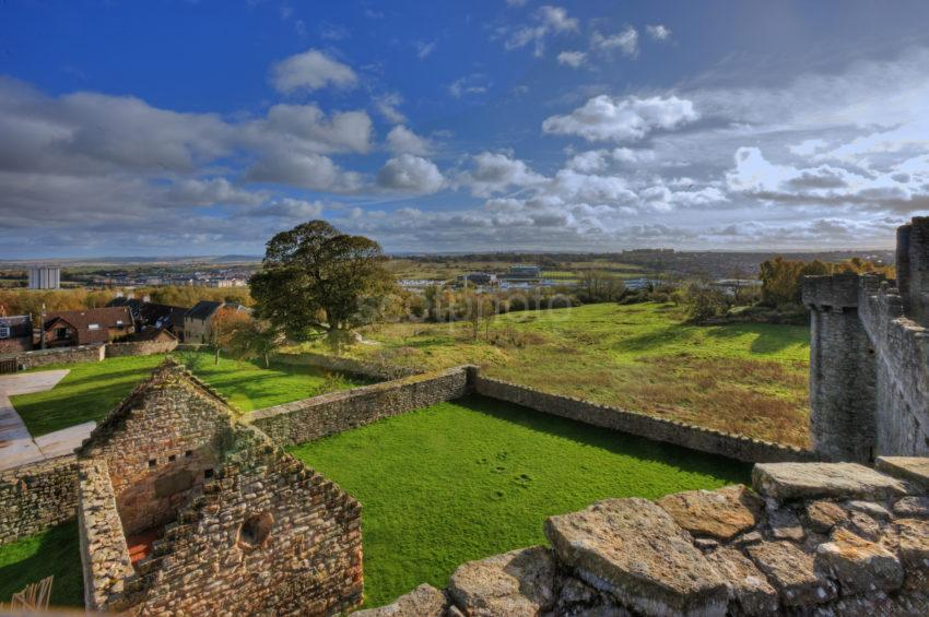0I5D9035 View From Craigmillar Castle Battlements