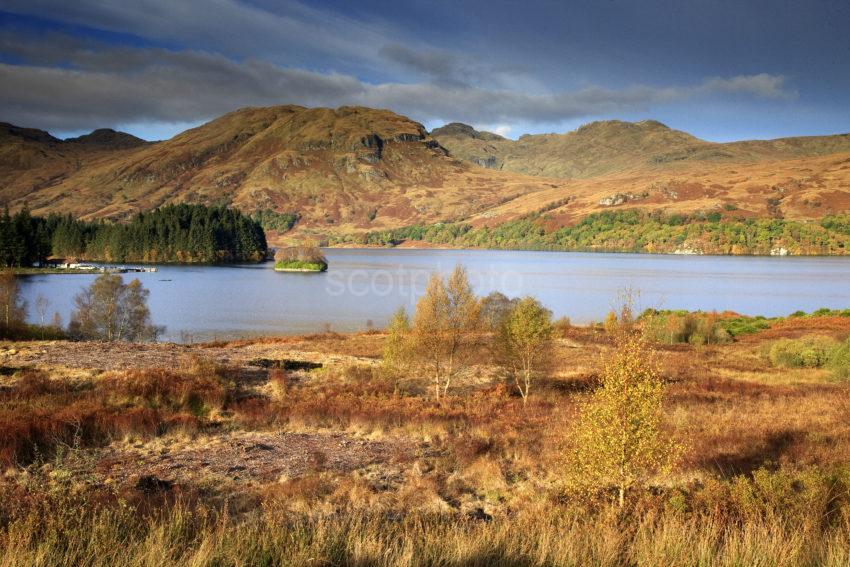View Across Loch Katrine