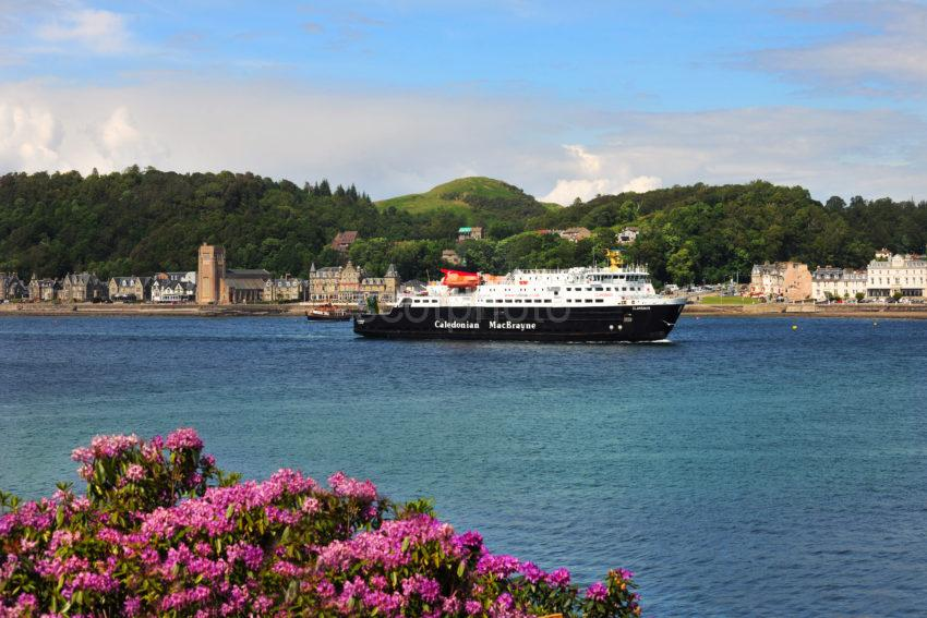 MV Clansman Arrives In Oban June 2012