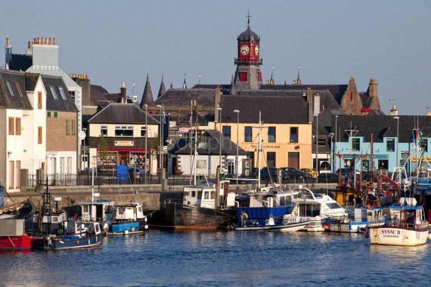 Stornoway Harbour Lewis