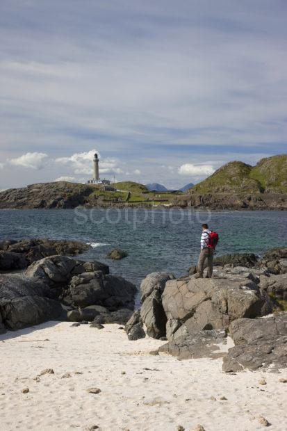 I5D7044 Ardnamurchan Lighthouse From Beach At Point