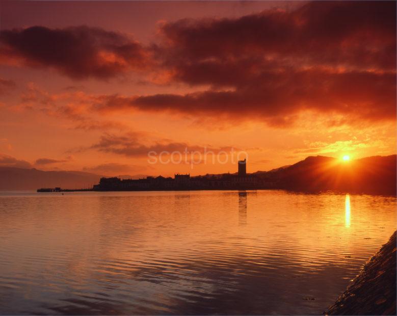 Inveraray Sunset Argyll