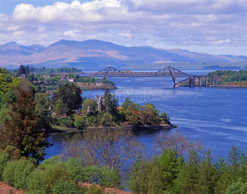 Connel Bridge And Mull