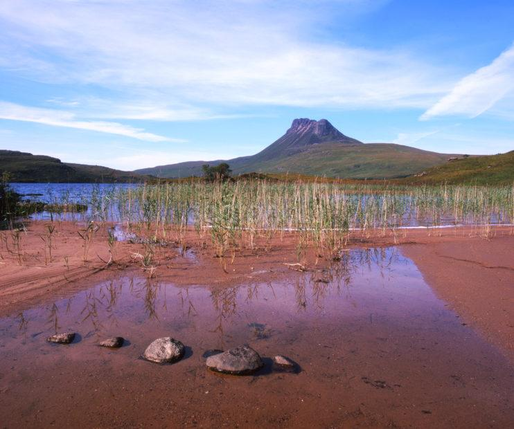 Towards Stac Polly From Loch Lurgain Inverpolly Sutherland