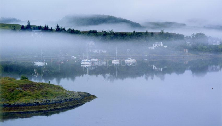 Misty View Of Connel Village