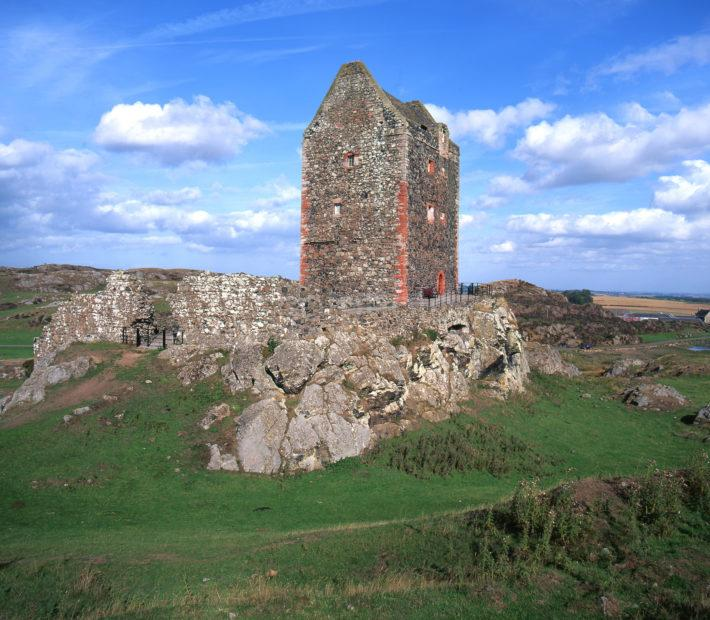 Smailholm Tower Scottish Borders