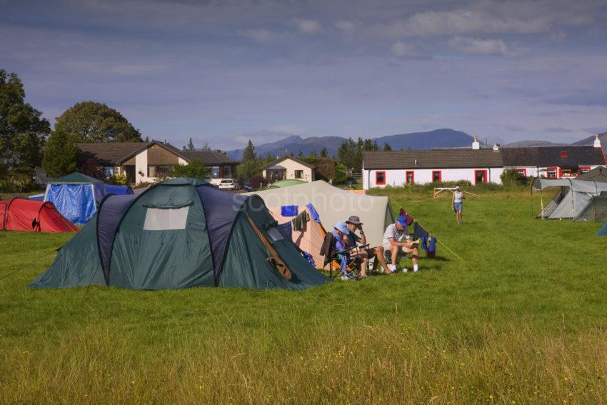 Camping In Benderloch