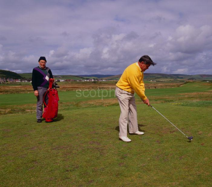 Golfer Turnberry