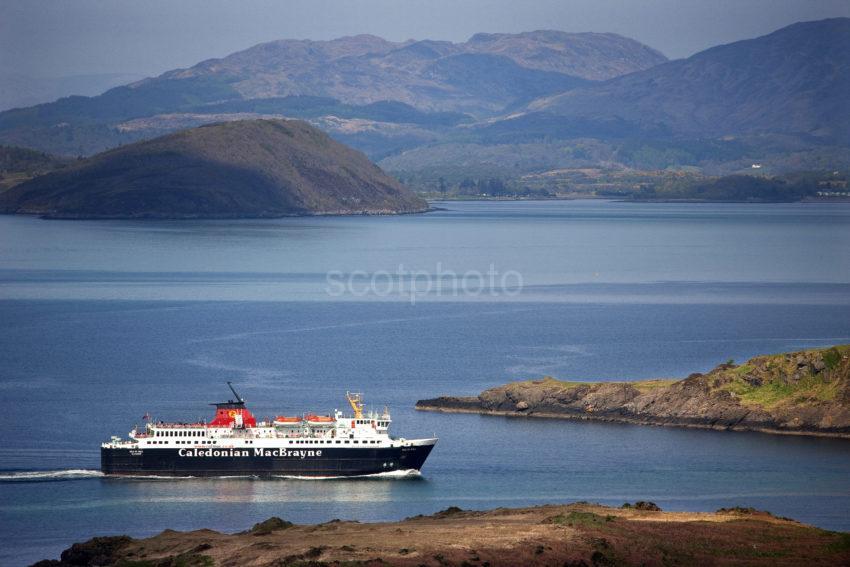Isle Of Mull Passes Kerrera Coastline
