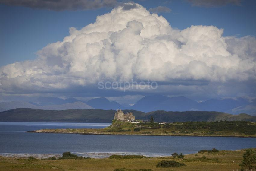 I5D9975 Duart Castle From Island Of Mull