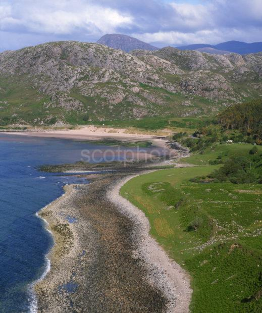 Rugged Scenery Around Gruinard Bay Ross Cromarty NW Highlands