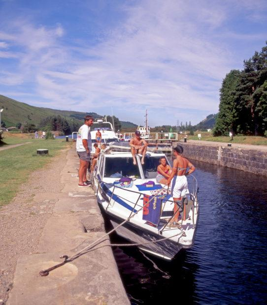 Cal Canal At Laggan Locks