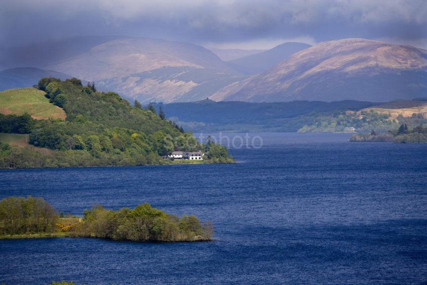 WY3Q9941 Dramatic Lighting Looking NE Loch Awe