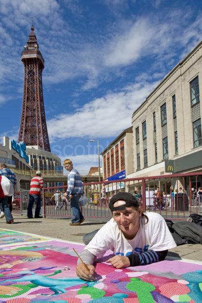 Rose The Artist Blackpool