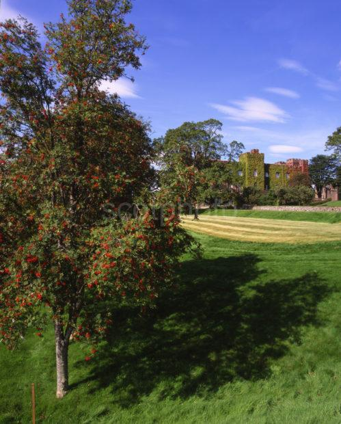 Autumn View Of Scone Palace Nr Perth 1803 Robert Bruce Crowned 1306