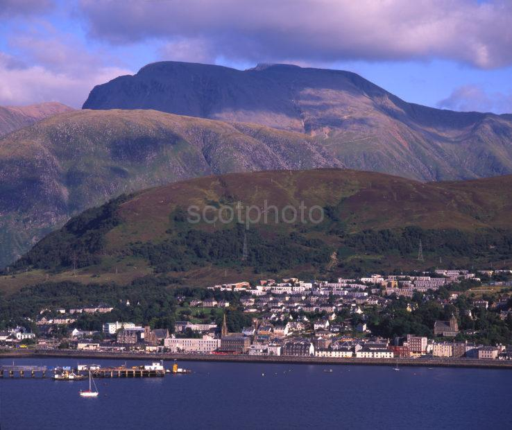 Across Loch Linnhe To Fort William Abd Ben Nevis Lochaber