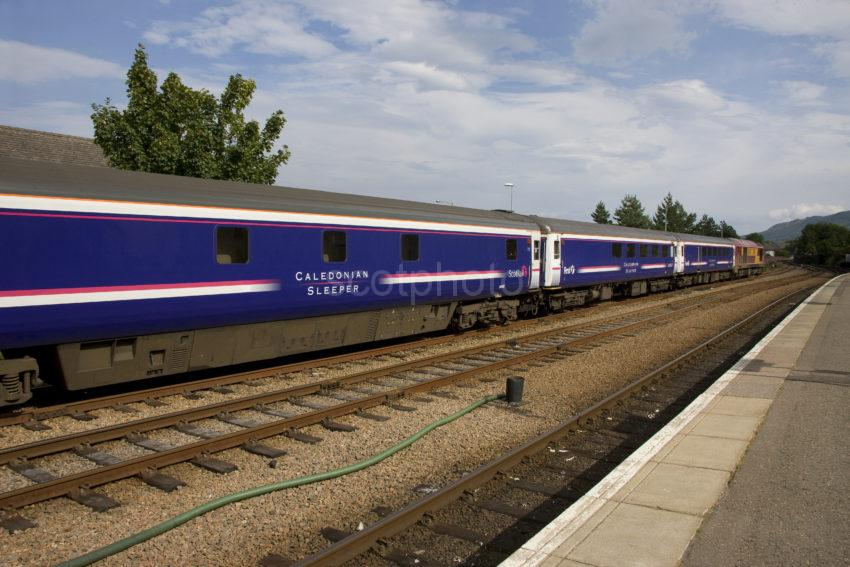 The Caledonian Sleeper At Fort William Station