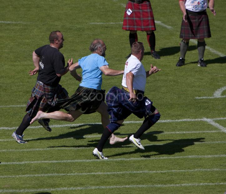 Running At The Games Oban Highland Games