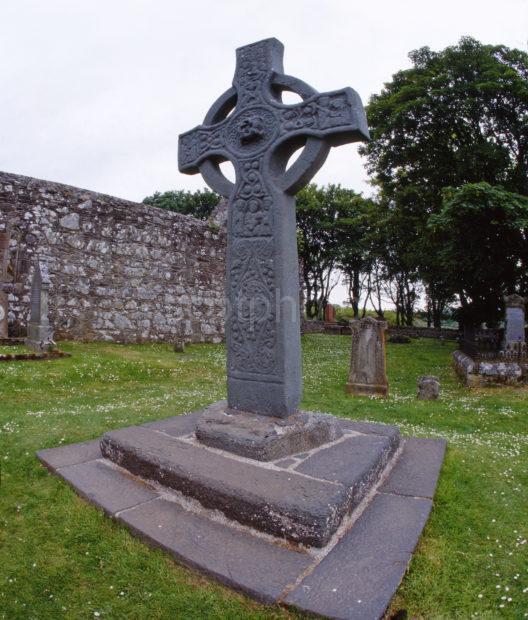 The Kildalton Cross Nr Kintour Island Of Islay