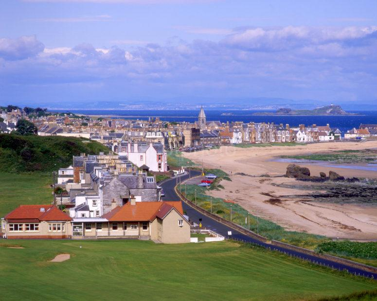 Towards North Berwick And Harbour East Lothian