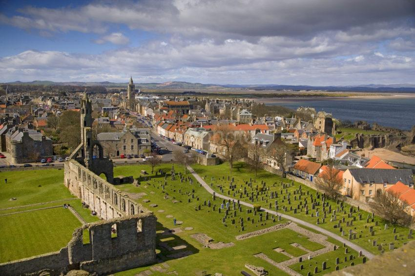ST ANDREWS FROM ST RULES TO