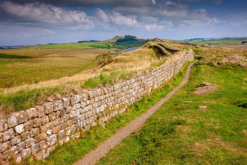 Steel Rigg Hadrians Wall Northumbria
