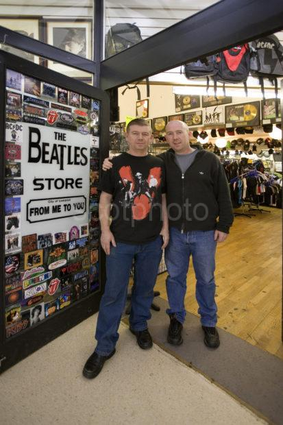 Owners Of The Beatles Shop