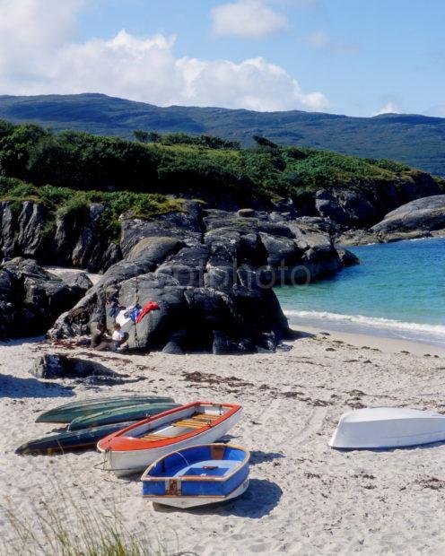 Beaches At Ardtoe Nr Acharacle