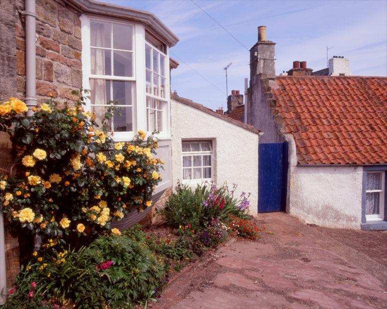 A Quiet Corner In Crail Village Fife