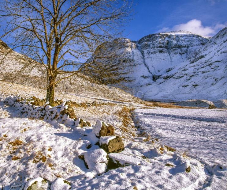 Winter Glencoe West Highlands